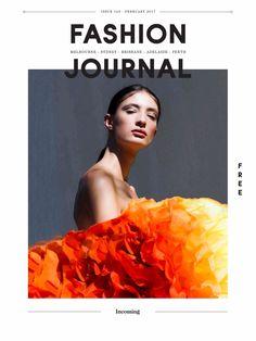Fashion Journal #165   Orange Magazine Cover