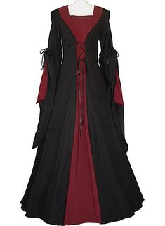 dornbluth.co.uk - medieval dresses, oh my goodness!! they're like Hogwarts robes :D:D