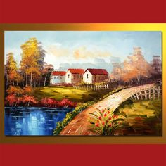 MLS0408006 Oil Painting On Canvas, 60 x 90 cm/24 x 36 in