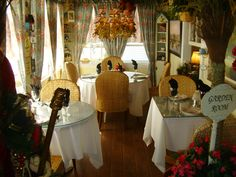 Lady Anns tearoom. . .so wonderful in Stuart, FL.   very special place.