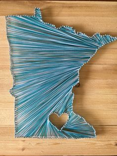 Minnesota String Art! My first one, more to come!!