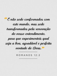 Romanos 12:2