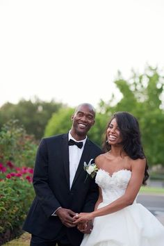 What a Beautiful Couple  |  Found on Weddingbee.com Share your inspiration today! love her hair
