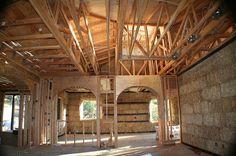 strawbale house construction