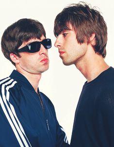 Liam & Noel Gallagher. 1994.