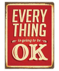 Studio Oh! Everything Is Ok Deconstructed Journal | zulily