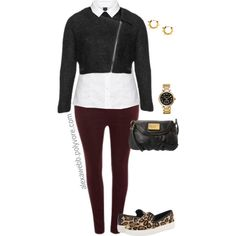 A fashion look from November 2014 featuring Sam Edelman shoes, Michael Kors watches and Maria Francesca Pepe earrings. Browse and shop related looks.
