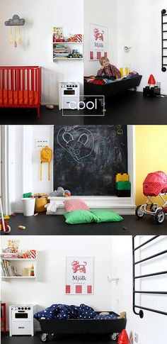 cool kids rooms...
