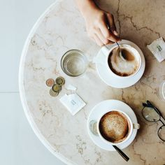 Is it a certifiable fact that every morning is made better by taking a deep breath and enjoying a nice cup of coffee? If it's not, it should be. A simple, calming (yet energizing) daytime activity that keeps ya moving the rest of the day. #coffee please #good #morning