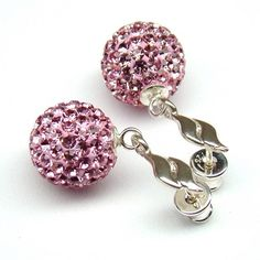 Jewelry Design That We Look In Amazement - Designbuzz Crystal Jewelry, Crystal Rhinestone, Swarovski Crystals, Pink Jewelry, Sterling Necklaces, Pink Roses, Wedding Jewelry, Women's Accessories, Belly Button Rings