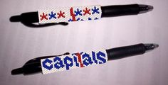 Washington Capitals G2 Pen Cover Pattern | Craftsy