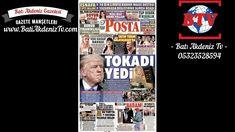 Günün Gazete Manşetleri 22 Aralık 2017 Cuma Gazete Oku | BTV  OKU, YORUMLA ve PAYLAŞ ==> http://www.batiakdeniztv.com/genel/gunun-gazete-mansetleri-22-aralik-2017-cuma-gazete-oku-btv-h7281.html  BATI AKDENiZ GAZETESi