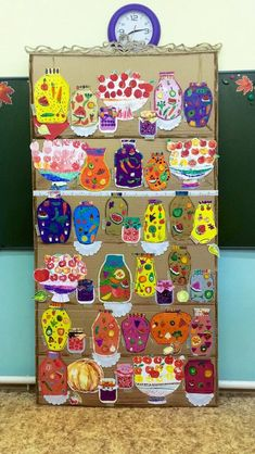 Фотография Classroom Art Projects, School Art Projects, Fall Crafts For Toddlers, Toddler Crafts, Kindergarten Art, Preschool Crafts, Painting For Kids, Drawing For Kids, Kids Church Decor