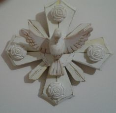 Pátina provençal - Divino e resplendor. Oficina Artesanal Pra Casa - Cláudia Andre