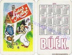 1974 - 1974_0190 - Régi magyar kártyanaptárak