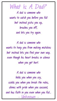 fathers day poems special person