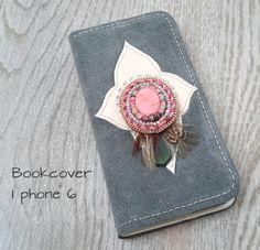 Bookcover 'Ibiza grey' I phone 6