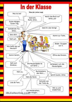 Willkommen auf Deutsch - Schule