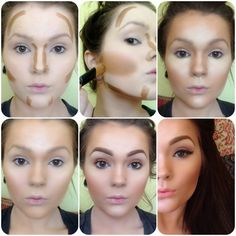 Aly's six steps to looking like Kim Kardashian - from the neck up!
