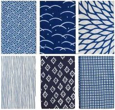 traditional Japanese fabrics and patterns.