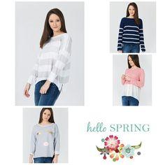 New collection spring 2016 estos jerseys y mucho más en nuestra web www.charlottteonline.es. Entra y escoge