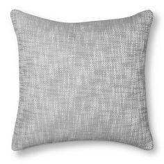 Threshold™ Textured Decoartive Pillow - Grey
