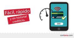 En Conlana, el historial crediticio no es un determinante para la aprobación de tu préstamo. #BuródeCrédito