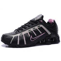 Nike Shox Shoes for Women   Home Nike Shox NZ 3.0 Leven Womens shoe Black Pink