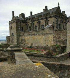 Stirling Castle in Stirling Scotland