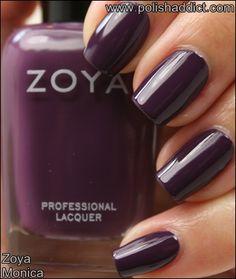 Zoya Monica #ZoyaNailPolish #nailpolish #swatches