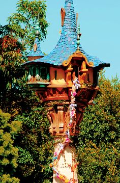Rapunzel's Castle Fairy House ♥