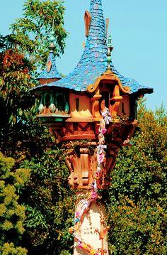 Rapunzel's Castle Fairy House ♥