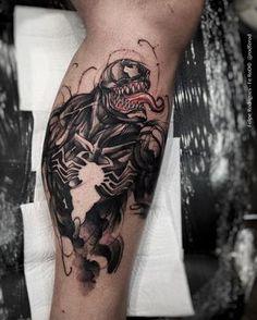 Venom Tattoo | https://www.instagram.com/rodferod/