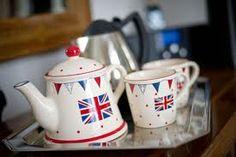 British tea set