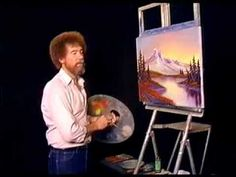Bob Ross - Painting Horizons West - Painting Video