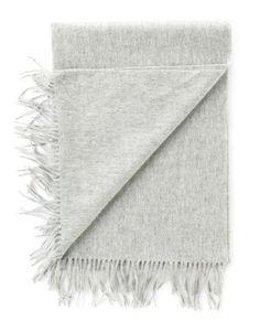 Trenery - Wool Scarf - Grey - $100 Wool Scarf, Grey, Gray