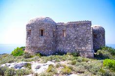 Venetian fortress at Exo Chora village, Zakynthos island, Ionian sea, Greece Exo, Byzantine, Olympus, Venetian, Mount Rushmore, Medieval, Greece, Island, Mountains