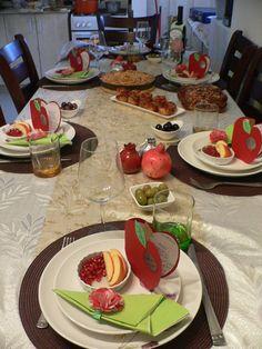 my Rosh Ha Shana table this year