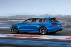 2014 AUDI RS 6 avant [Would love to do the grocery shopping in this thing!]