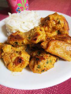 Seitan façon poulet Tikka //végan Seitan Recipes, Vegan Recipes Videos, Vegan Lunch Recipes, Raw Food Recipes, Meat Recipes, Vegan Food, Charcuterie Vegan, Seitan Chicken, Chicken Tikka
