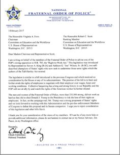 """FOP Opposes HR 785 """"Right-to-Work"""" Act - https://scfop3.org/fop-opposes-hr-785-right-work-act/"""