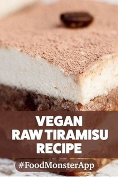 Raw Tiramisu Mini Tarts [Vegan, Gluten-Free] Creamy and cool, with a hint of coffee flavor and the best of both chocolate and vanilla worlds, these mini tiramisu tarts make for an indulgent evening treat that anyone will enjoy! Vegan Candies, Healthy Vegan Desserts, Raw Desserts, Vegan Treats, Raw Vegan Recipes, Healthy Dessert Recipes, Cookies Vegan, Vegan Snacks, Vegan Dinners
