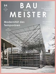 Baumeister, Das Architektur Magazin / by HERBURG WEILAND