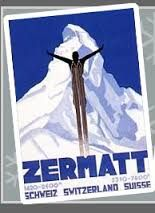 vintage skiing posters - Google Search