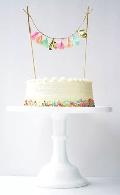 Anpassbare Quaste Topper / / Cake Topper, Pie Topper, Cupcake Topper, Dessert T . 10 Birthday Cake, Happy Birthday Cake Topper, Birthday Cake Decorating, 10th Birthday, Birthday Parties, Birthday Ideas, Pretty Cakes, Cute Cakes, Beautiful Cakes