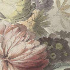 Bloemen op een plint liggende, anonymous, c. 1700 - c. 1800 - Jan van Huysum-Collected Works of Karol de Witt - All Rijksstudio's - Rijksstudio - Rijksmuseum