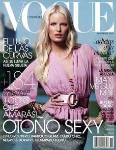 Caroline Winberg by Torkil Gudnason Vogue Mexico November 2006