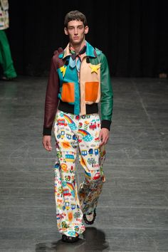 Walter Van Beirendonck Spring Summer Primavera Verano 2016 Collection #Menswear #Trends #Tendencias #Moda Hombre - Pairs Fashion Week - D.P.