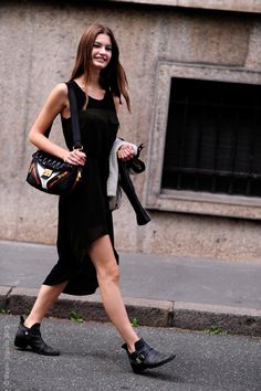 #OphelieGuillermand looking fab #offduty in Paris.