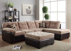 50535 Layce Camel sectional sofa. Available at Alternative Office Solutions  408-776-2036.